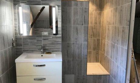 Entreprise pour rénovation salle de bain sur mesure à Châteaurenard