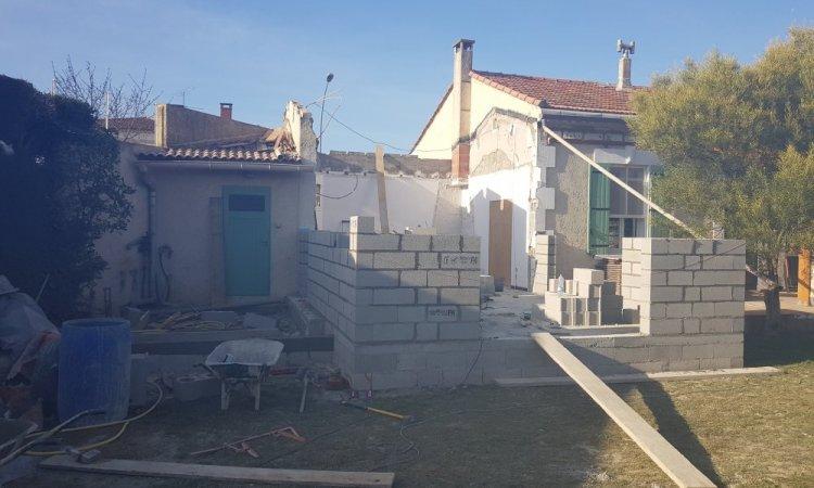 Extension de maison à Châteaurenard